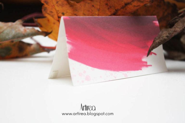 nowoczesne jesienne burgundowe bordowe zaproszenia slubne z pozloceniem artirea