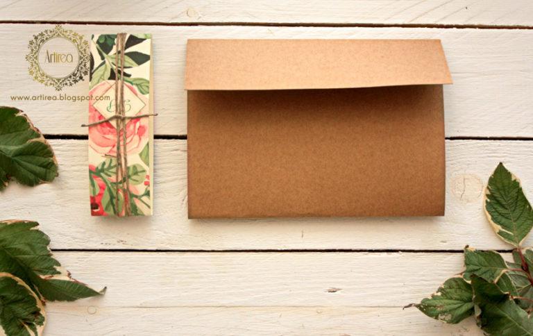 rystykalne zaproszenia slubne na papierze ekologicznym artirea