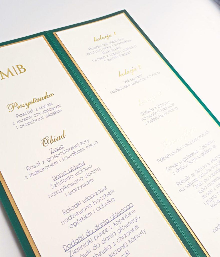 szmaaragdow-zielone-menu-weselne-pozlocone