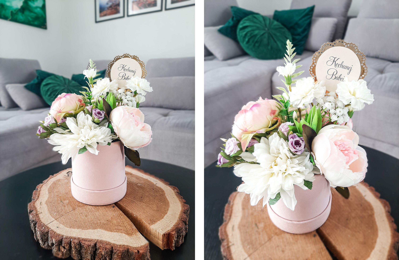 flower box box kwiatowy dzień babci